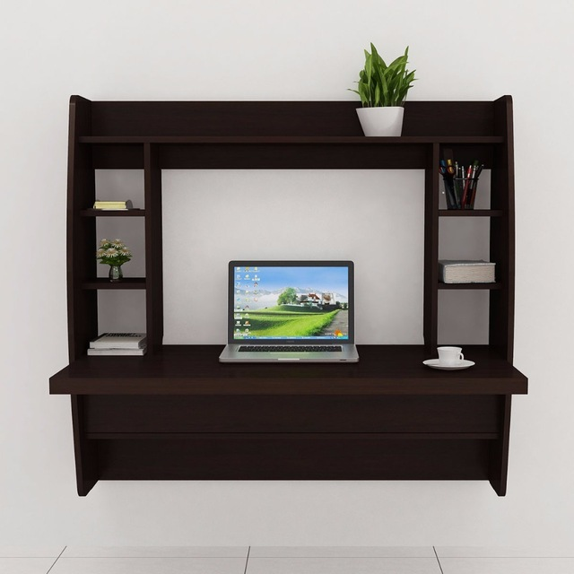 Floating Cabinet Modern Computer Desk