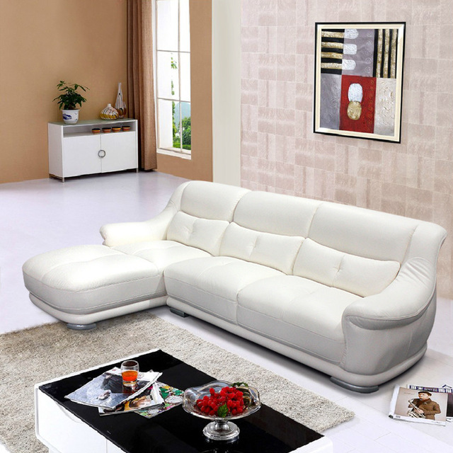 Modern sofa ,leather sofa, corner sofa, living room furniture